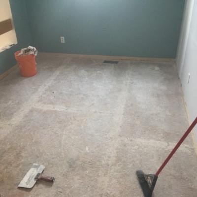 Laminate Floor Before
